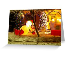 Getting Ready for Christmas... Greeting Card