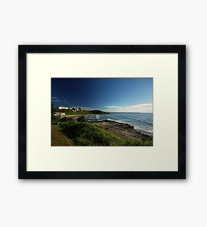 Dawn in Yamba, New South Wales Framed Print