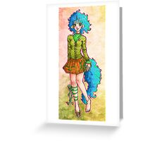 Momo Magic Greeting Card
