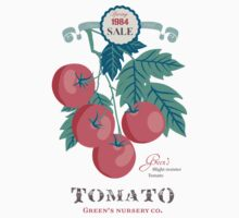 Veg Love Collection No.5 Tomato Kids Tee