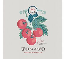 Veg Love Collection No.5 Tomato Photographic Print