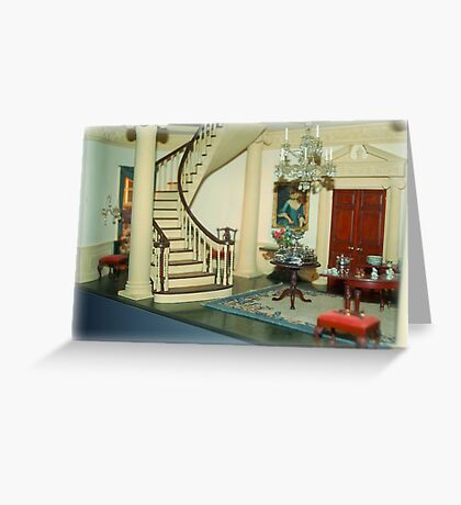 Aristocracy In Minature Greeting Card