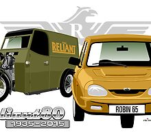 Reliant 80 years - first and last 3-wheeler by car2oonz