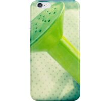Watering can iPhone Case/Skin