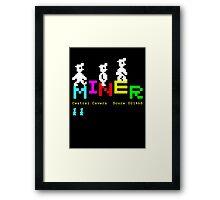 Manic Miner v2 Framed Print