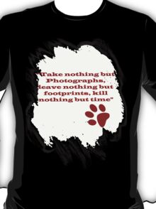 Leave Footprints T-Shirt