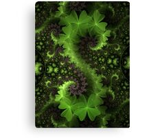 Saint Patrick's Background Canvas Print