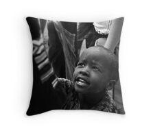 Masai Child Throw Pillow