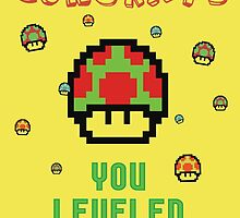 Congrats! You leveled up. by byzmoPR