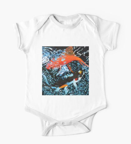 Serenity in the Water One Piece - Short Sleeve