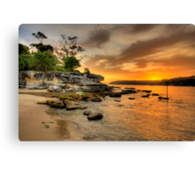 Fantasia By The Sea - Balmoral Beach - The HDR Series Canvas Print