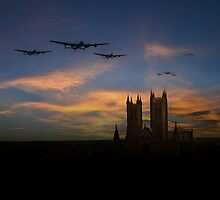 Bombers Over Lincoln  by J Biggadike
