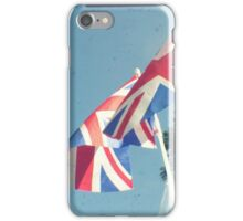 Flags - Union Jacks in a blue sky iPhone Case/Skin