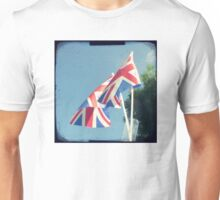 Flags - Union Jacks in a blue sky Unisex T-Shirt
