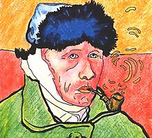 Vincent Van Gogh by mmarco1954