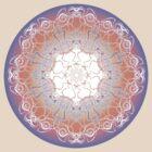 Celtic mandala by Bonnie Aungle