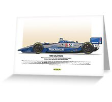 #2 LOLA - 1993 - T9300 - Goodyear Greeting Card