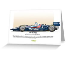 #3 LOLA - 1993 - T9300 - Al Unser Jr Greeting Card