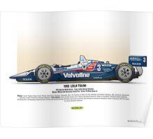 #3 LOLA - 1993 - T9300 - Al Unser Jr Poster