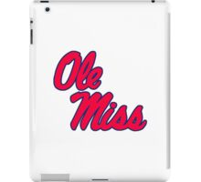 Ole Miss iPad Case/Skin