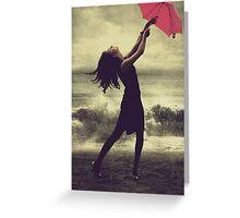 Thunderstorm Greeting Card