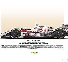 #5 LOLA - 1993 - T9300 - Mansell by Evan DeCiren