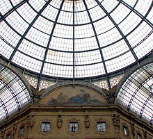 Milan - Vittorio Emanuele Gallery Dome by mmarco1954