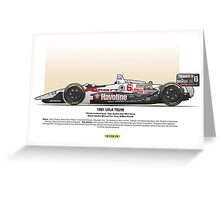 #6 LOLA - 1993 - T9300 - Andretti Greeting Card