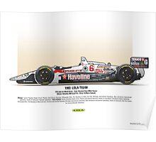 #6 LOLA - 1993 - T9300 - Andretti Poster