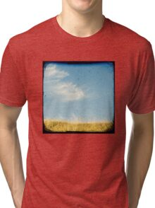 Beach grass Tri-blend T-Shirt