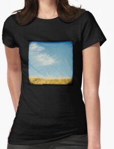 Beach grass Womens Fitted T-Shirt