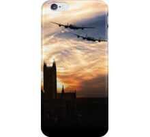 Lancs Over The Cathedral  iPhone Case/Skin