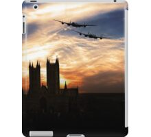 Lancs Over The Cathedral  iPad Case/Skin