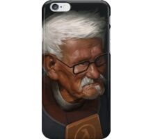OLD FREEMAN iPhone Case/Skin