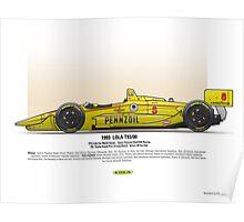 #8 LOLA - 1993 - T9300 - Fabi Poster