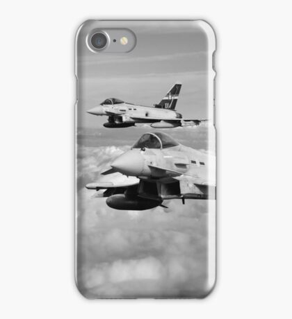 100 Years of 3 Squadron - Mono  iPhone Case/Skin