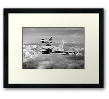100 Years of 3 Squadron - Mono  Framed Print