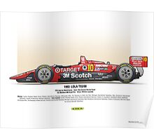 #10 LOLA - 1993 - T9300 - Luyendyk Poster