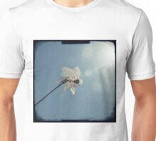 Windmill in a blue sky Unisex T-Shirt