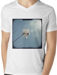 Windmill in a blue sky Mens V-Neck T-Shirt