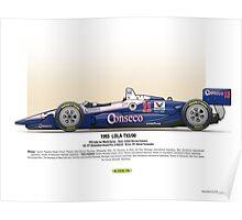 #11 LOLA - 1993 - T9300 - Fernández Poster