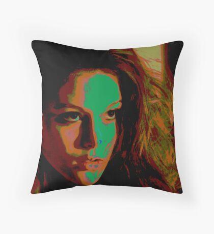 tamara 21 Throw Pillow