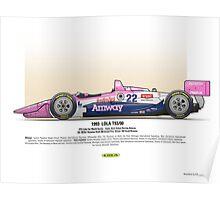 #22 LOLA - 1993 - T9300 - Brayton Poster