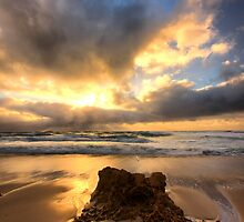 Burst on High - Rye Beach by Jim Worrall
