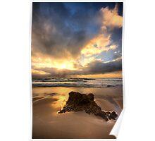Burst on High - Rye Beach Poster