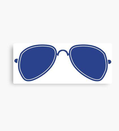 Aviator Glasses Canvas Print