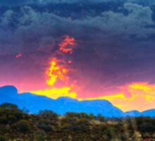 Fire of Kata Tjuta MKII, 30 August 2008 by Steven Pearce