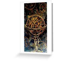 Armillary Sphere Greeting Card