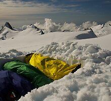 Glacier bivi by GaryMcKiernan