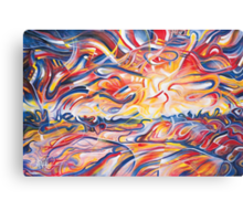 Colliers Sunset Canvas Print